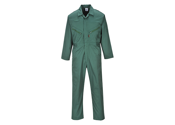 Zip Boilersuit  BottleG  XXL  R - 1