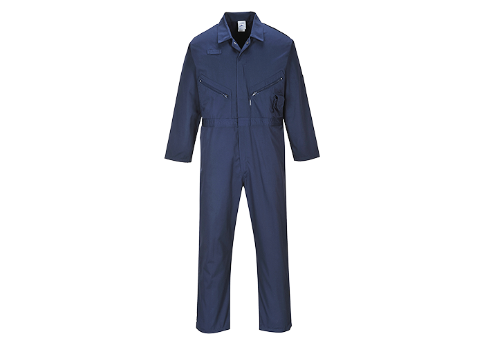 Zip Boilersuit  Navy  6XL  R - 1