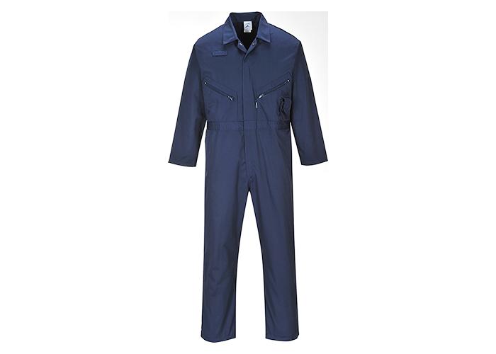Zip Boilersuit  Navy  Small  R - 1