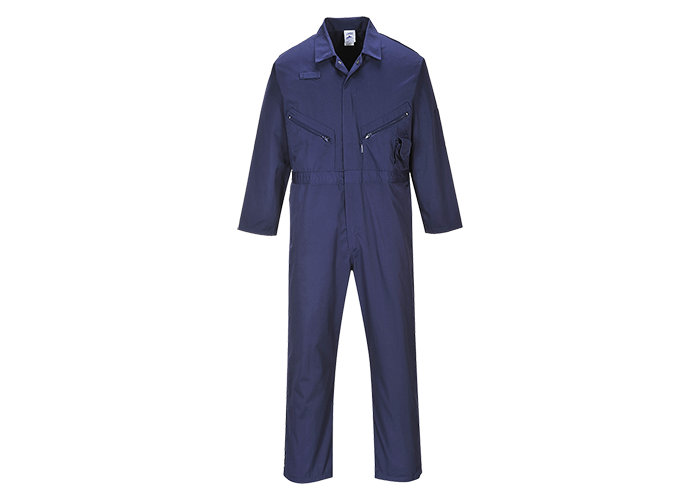 Zip Boilersuit  Navy T  Small  T - 1