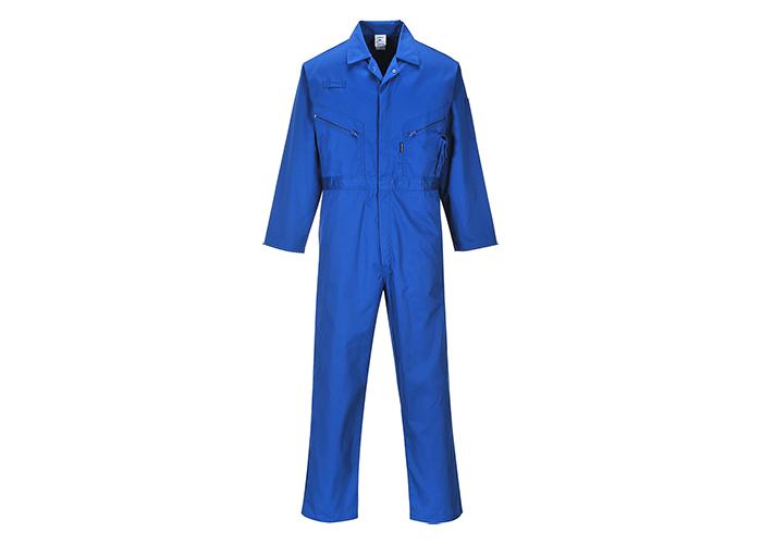 Zip Boilersuit  Royal  Medium  R - 1