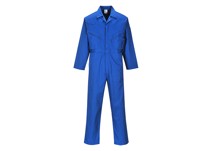 Zip Boilersuit  Royal  XL  R - 1