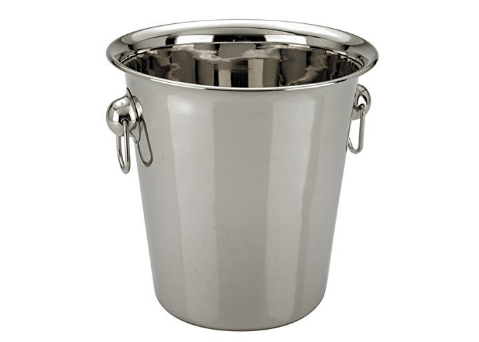 Zodiac Champagne Wine Ice Bucket 5 Litre in High Polished Stainless Steel - 1