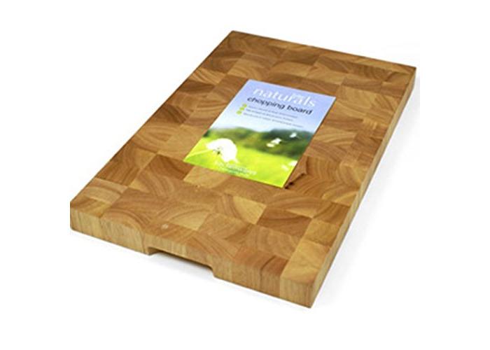 Zodiac Wooden Rectangular End Grain Board 45X30X3.5Cm - 1
