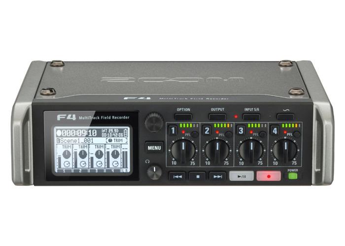 Zoom F4 - Field Recorder - 1