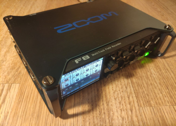 Zoom F8 - Mixer Recorder: 8 clean inputs, Timecode In&Out... - 1
