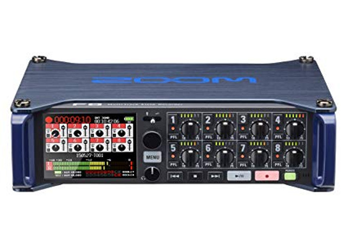 Zoom f8 multi track recorder - 1