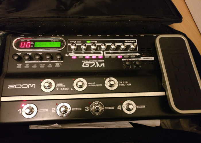 Zoom G7.1ut - Electric Guitar Multi-Effects Pedal - 1