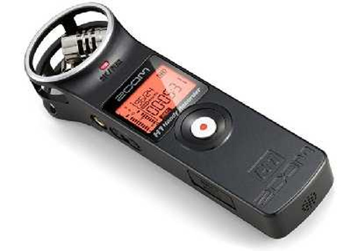 Zoom H1 Audio Recorder with 2gb SD Card - 1