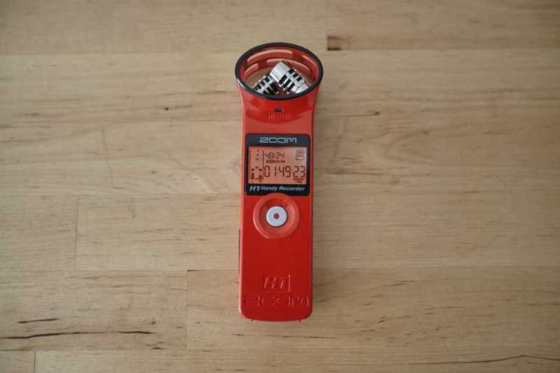 Zoom H1 Handy Recorder - 1