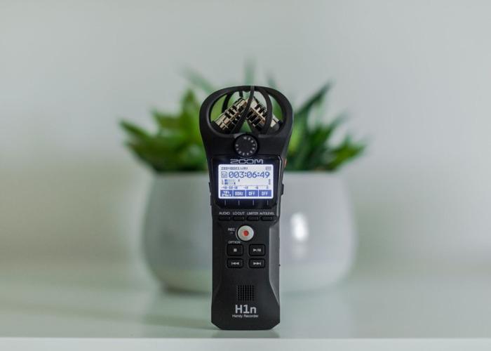 Rent Zoom H1n Audio Recorder Handy Recorder In Chertsey Rent