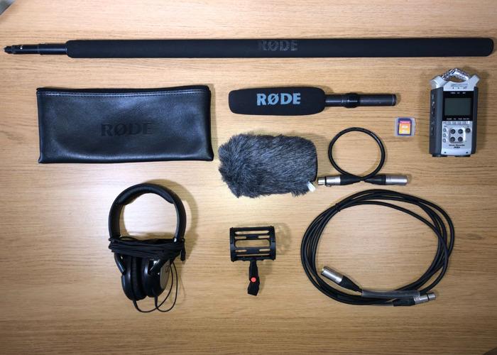 Zoom H4n + NTG-2 + Boom Pole + Accessories  - 1