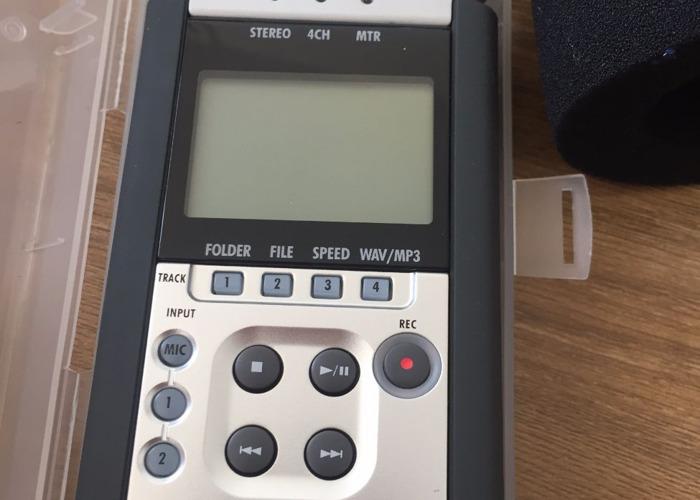 Zoom H4N Audio Recorder - 2