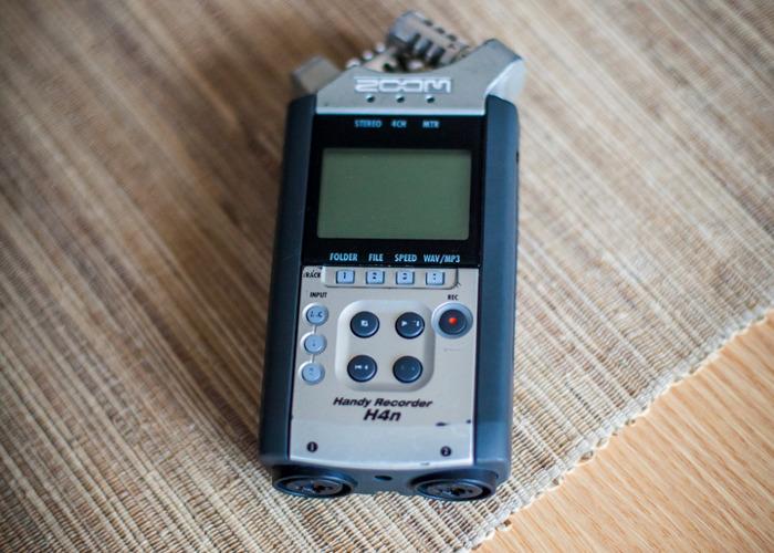 Zoom H4n Audio Recorder - 1