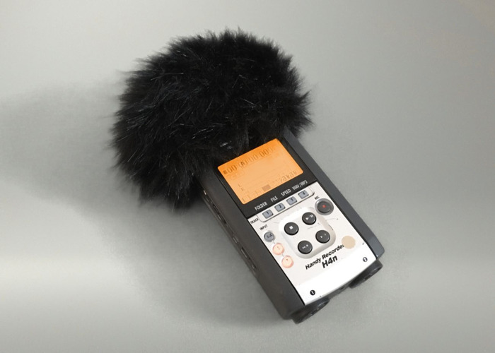 Rent Zoom H4n Audio Recorder With 8gb Sd Card Wind Shield In