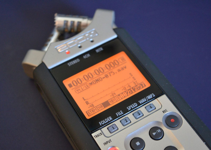 Zoom H4n 'handy recorder' field recorder/microphone receiver - 1