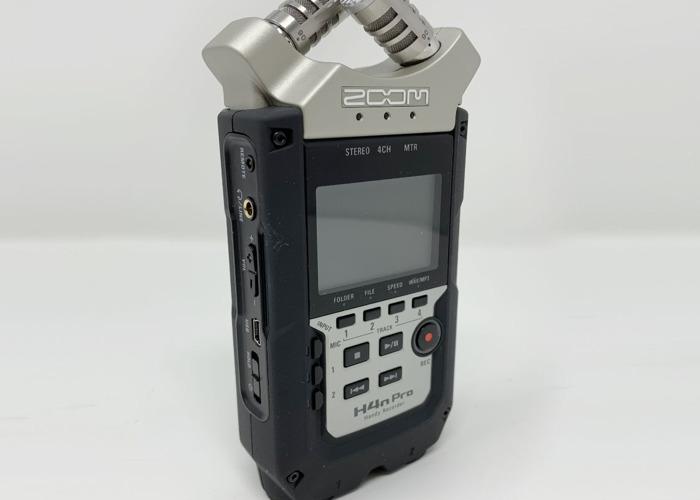 Zoom H4n Pro Handy Audio Recorder - 1