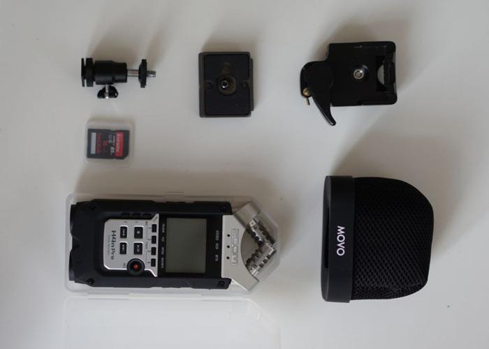 ZOOM H4N PRO (Handy Recorder) + Accesories - 2