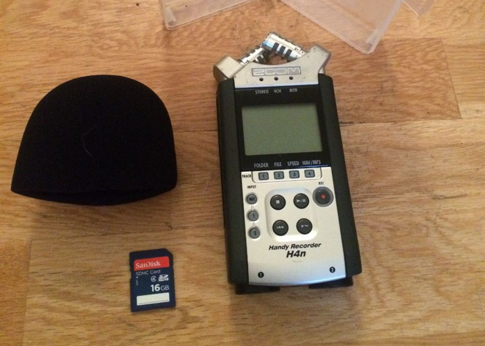 Zoom H4N Pro Handy Recorder - 1