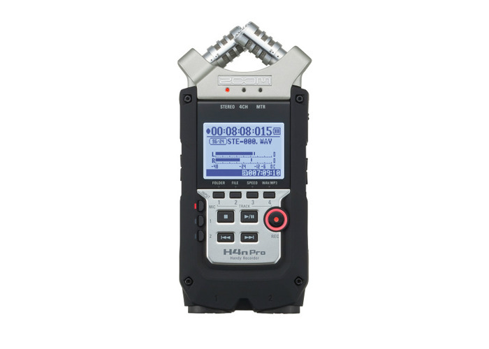 ZOOM H4N PRO Portable 4-track Recorder - 1