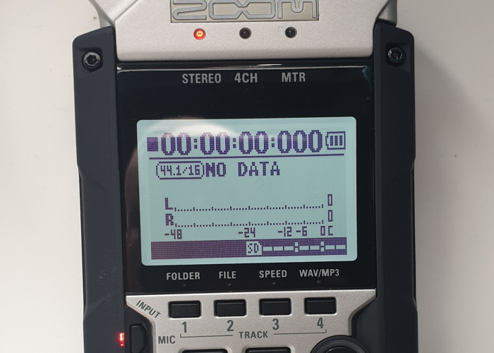 Zoom H4n pro recorder with 32gb sd card - 2