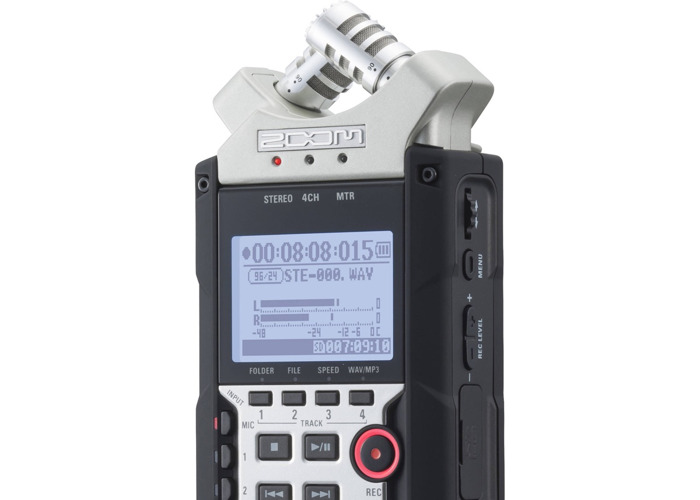Zoom H4N PRO with case - 2