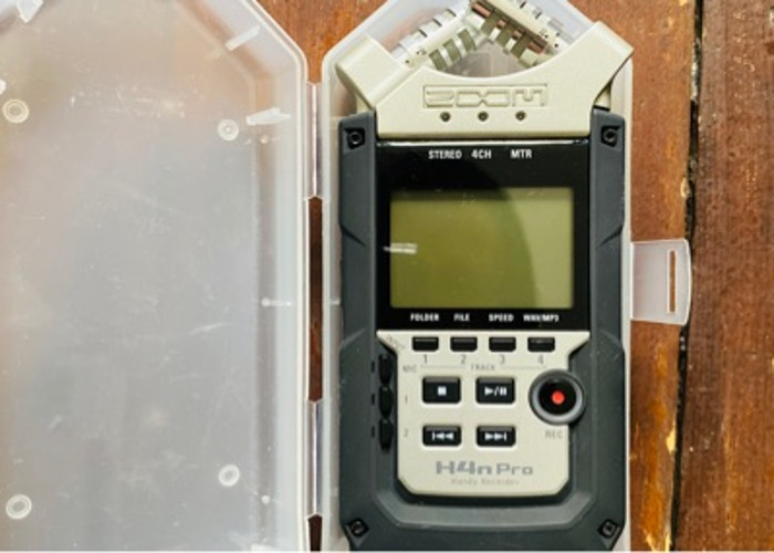 Zoom H4N PRO with case - 1