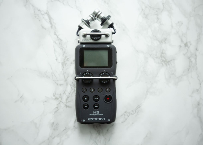 Zoom H5 audio recorder - 1