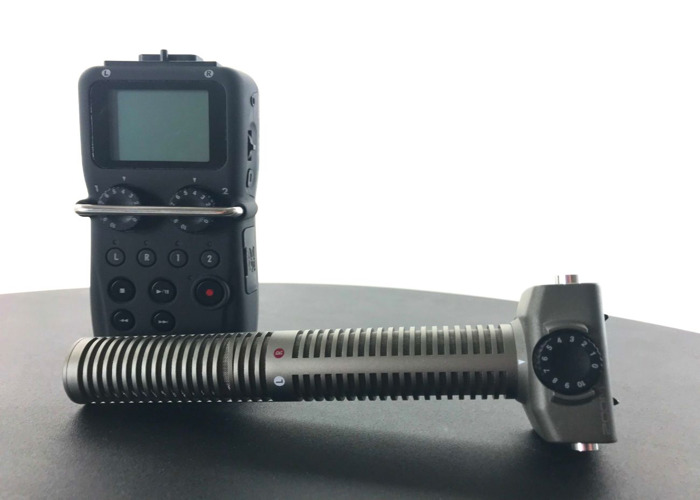 Zoom H5 Audio Recorder w/ Zoom SSH-6 Stereo Shotgun Mic - 2
