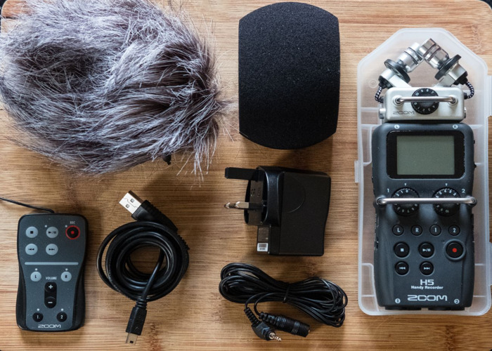 Rent Zoom H5 Handy Recorder + Accessory Kit in East Melbourne