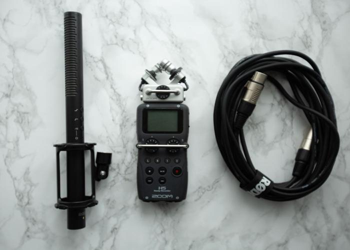 Zoom H5 plus Rode NTG4+mic bundle - 1