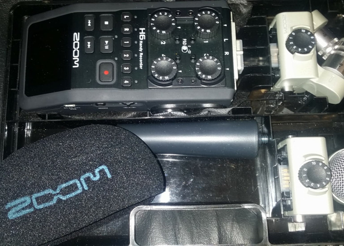 Zoom H6 + 2 stereo mics + 2GB Memory Card + Cover and handle - 1