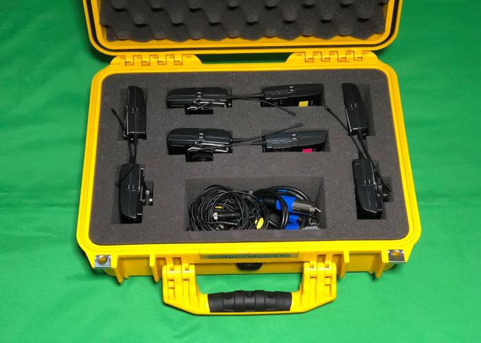 Zoom H6 + 4x Sennheiser G3 Wireless Lapel Microphone kit - 2