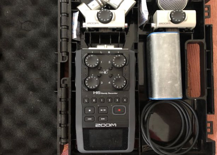 Zoom H6 + battery pack + 32gb sd card - 2