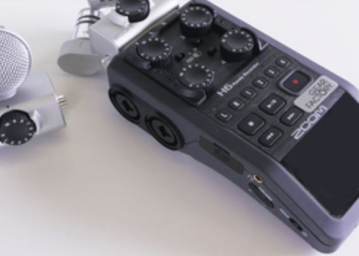 Zoom H6 – Portable Recorder Field Kit - 1