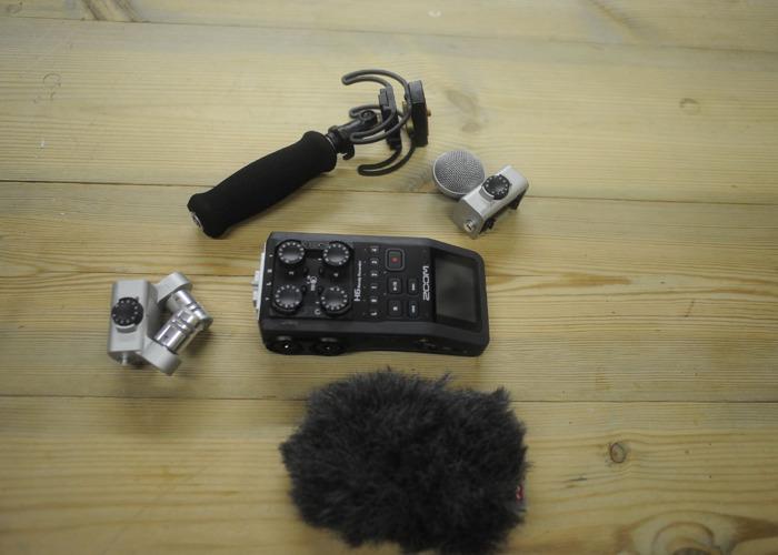 Zoom H6 recorder - 1