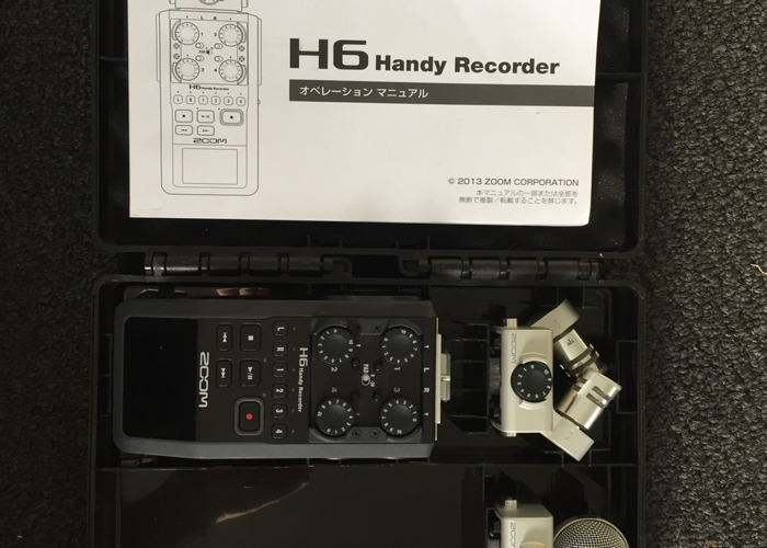 Rent Zoom H6 Audio Recorder in London