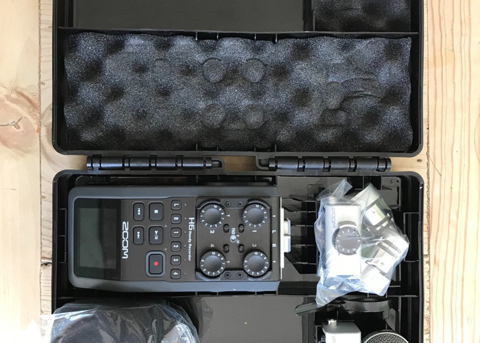 Zoom H6 audio recorder - 1