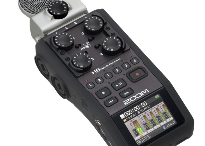 Zoom H6 Audio Recorder (with mic attachment) - 1