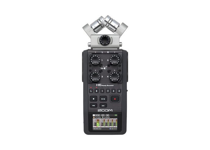 Zoom H6 Digital Audio Recorder - 2