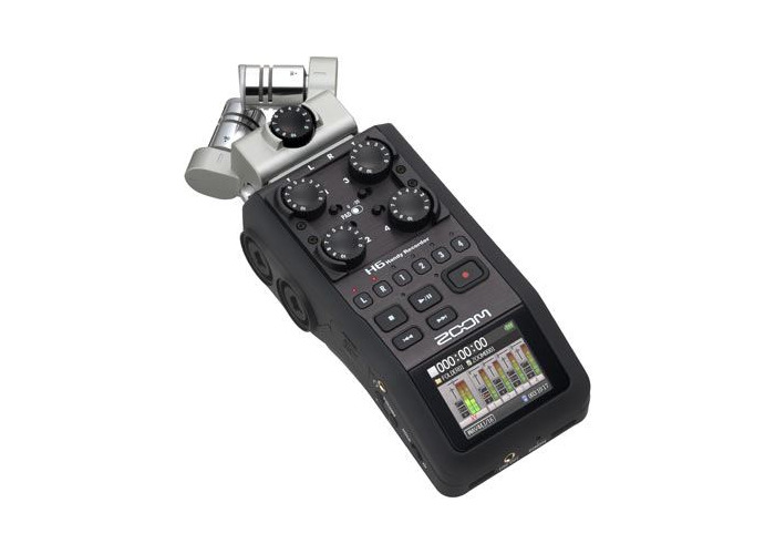 Zoom H6 Digital Audio Recorder - 1