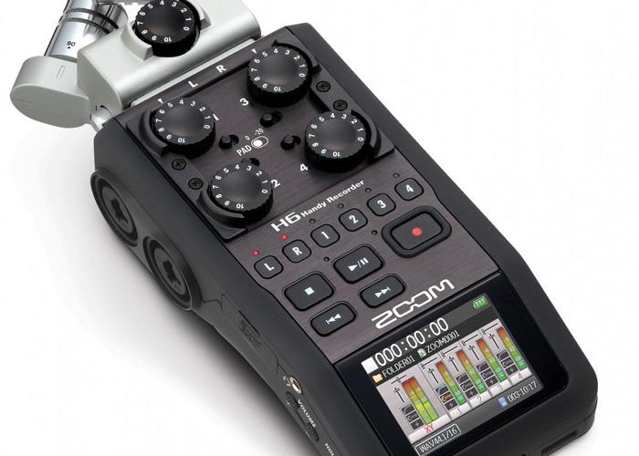 Zoom H6 Digital Recorder - 1