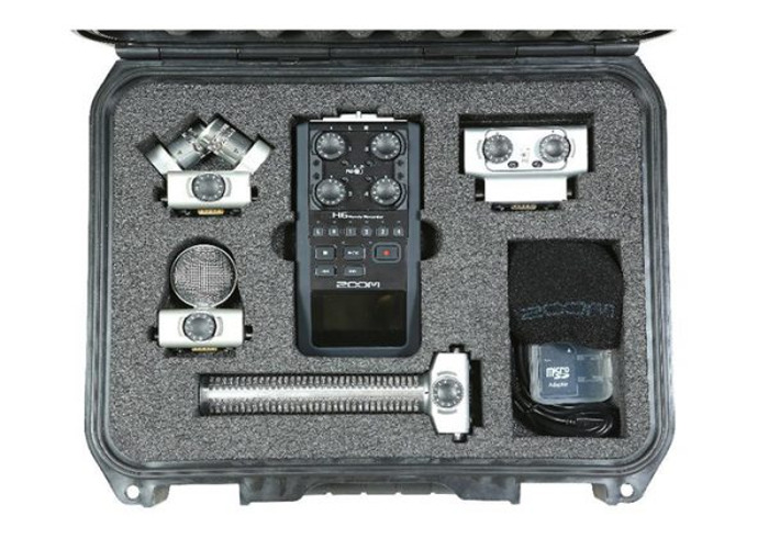 Zoom H6 field recording kit with boom - 1