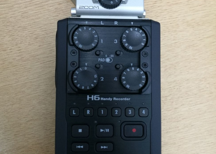 Zoom H6 Hand Recorder - 2