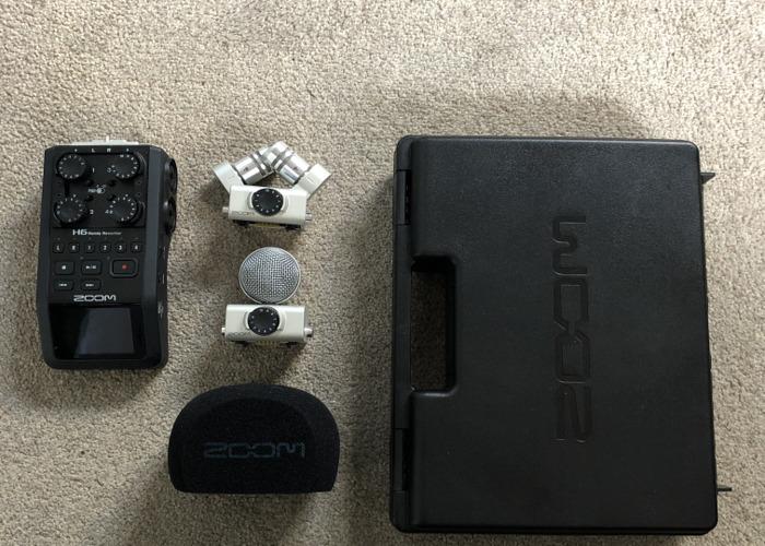 Zoom H6 handheld recorded  - 1