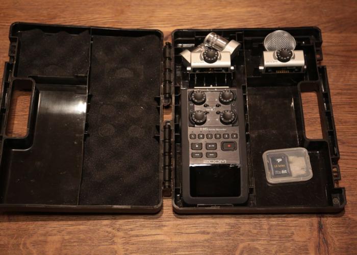 Zoom H6 Handheld Recorder - 2