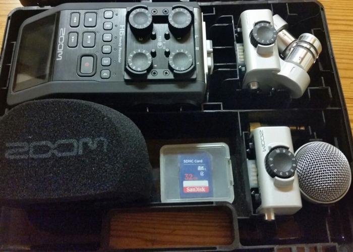 Zoom H6 Handheld Recorder Kit - 1