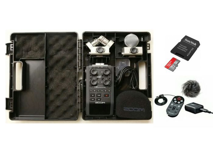 Rent Zoom H6 Handy Audio Recorder w/ 16gb SD & Accessories in London