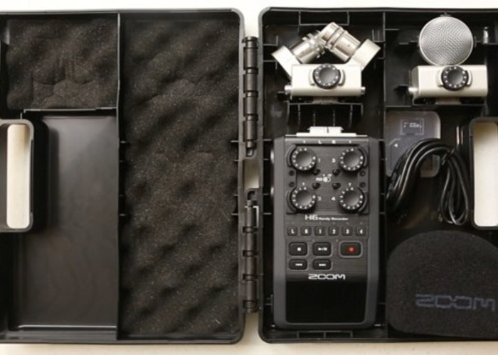 Zoom H6 Handy Recorder  - 1