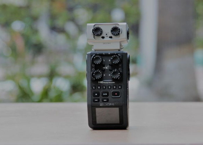 Zoom H6 Handy Sound Recorder with 2 Additional XLRs (EXH-6) - 1